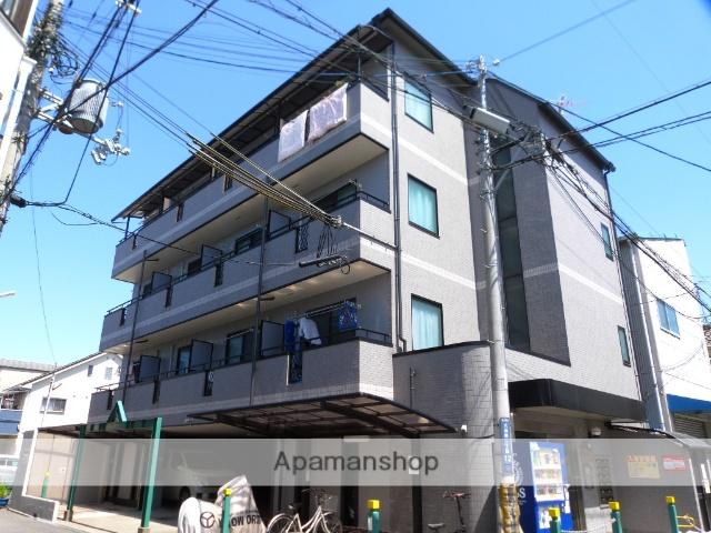 大阪府東大阪市、久宝寺駅徒歩23分の築18年 4階建の賃貸マンション