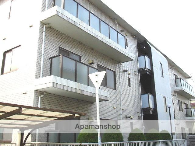大阪府東大阪市、新加美駅徒歩18分の築26年 3階建の賃貸マンション