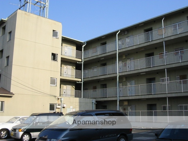 大阪府柏原市、土師ノ里駅徒歩17分の築29年 4階建の賃貸マンション