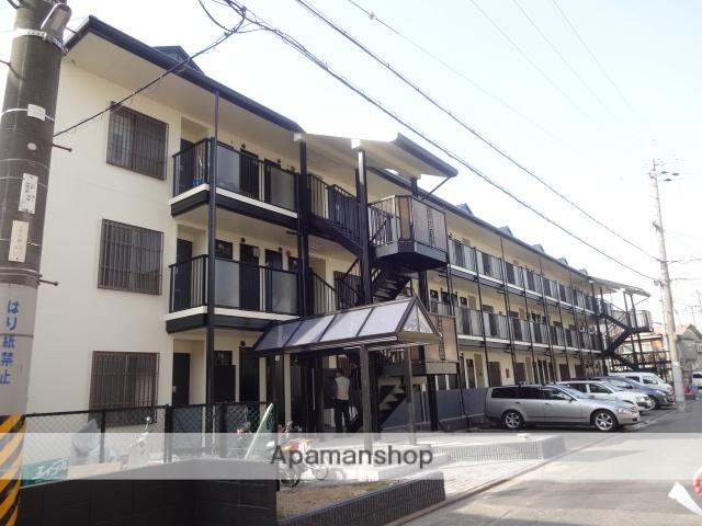 大阪府守口市、大和田駅徒歩20分の築27年 3階建の賃貸マンション