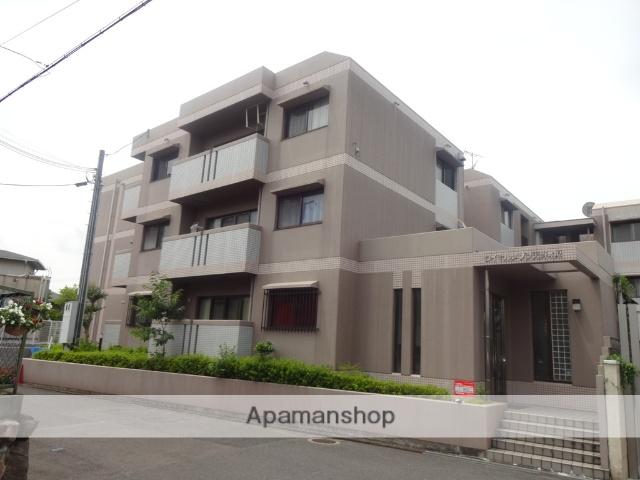 大阪府交野市、河内磐船駅徒歩11分の築26年 3階建の賃貸マンション
