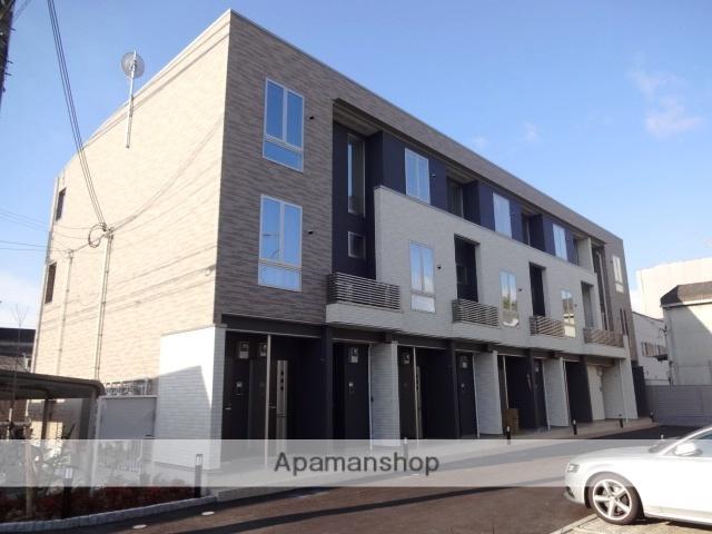 大阪府守口市、清水駅徒歩16分の築2年 3階建の賃貸アパート