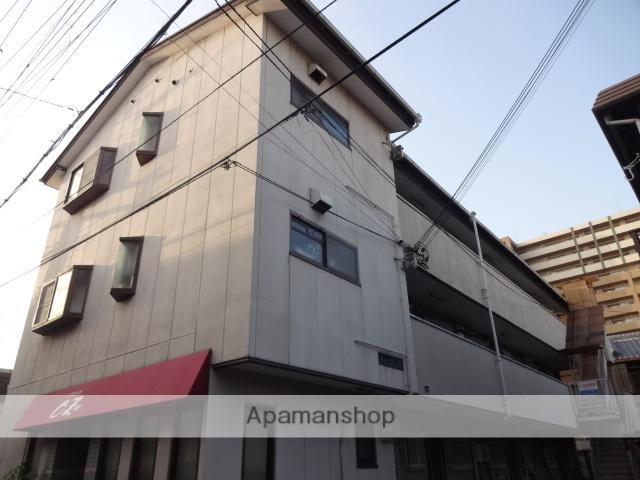 大阪府門真市、萱島駅徒歩14分の築25年 3階建の賃貸マンション