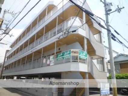大阪府守口市、萱島駅徒歩13分の築24年 4階建の賃貸マンション