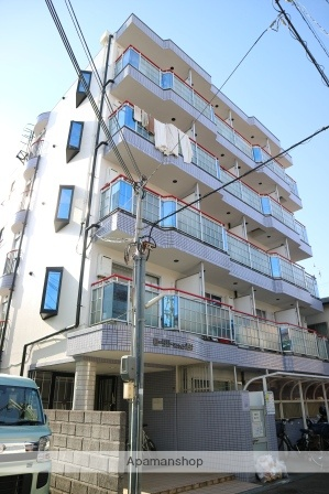 大阪府枚方市、枚方公園駅徒歩16分の築23年 5階建の賃貸マンション