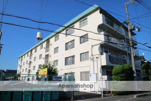 大阪府枚方市、津田駅徒歩14分の築38年 4階建の賃貸マンション