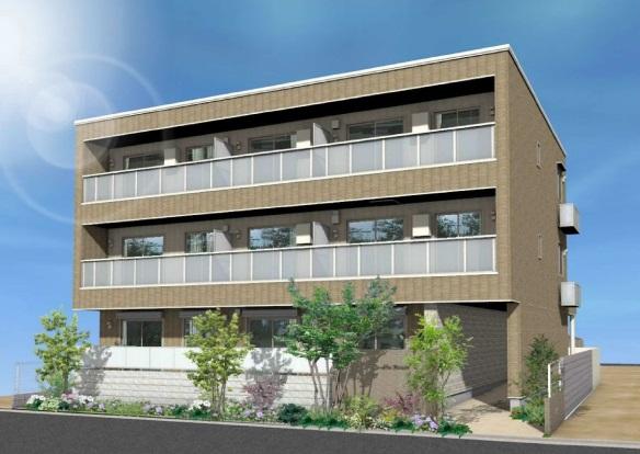 大阪府守口市、西三荘駅徒歩10分の新築 3階建の賃貸マンション