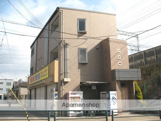 大阪府高槻市、島本駅徒歩16分の築13年 3階建の賃貸マンション