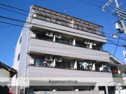 大阪府門真市、古川橋駅徒歩7分の築24年 4階建の賃貸マンション