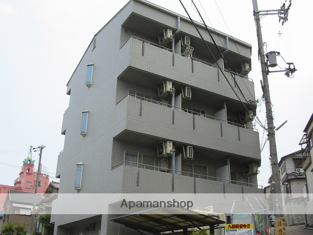 大阪府枚方市、枚方市駅徒歩16分の築24年 4階建の賃貸マンション
