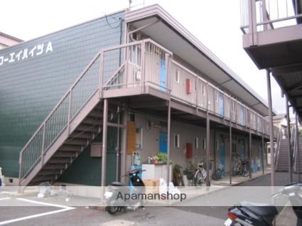 大阪府枚方市、藤阪駅徒歩23分の築39年 2階建の賃貸アパート