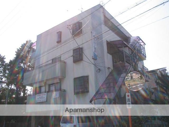 大阪府交野市、私市駅徒歩7分の築23年 4階建の賃貸マンション