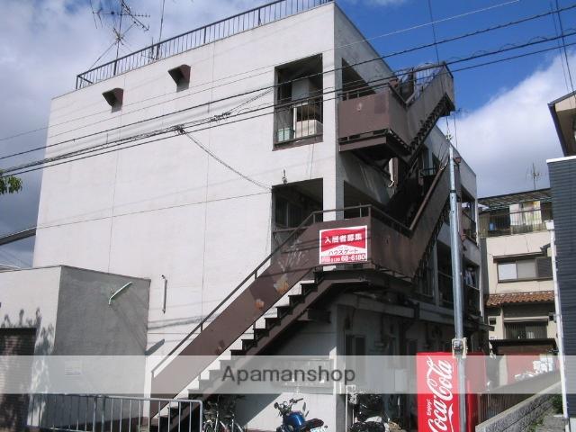 大阪府枚方市、御殿山駅徒歩14分の築44年 3階建の賃貸マンション