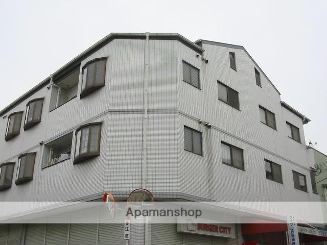 大阪府枚方市、長尾駅徒歩19分の築26年 3階建の賃貸マンション