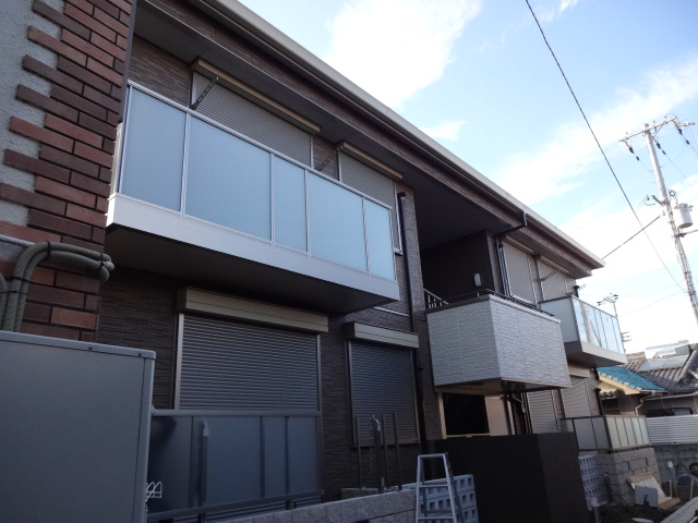 大阪府守口市、守口駅徒歩17分の築3年 2階建の賃貸アパート