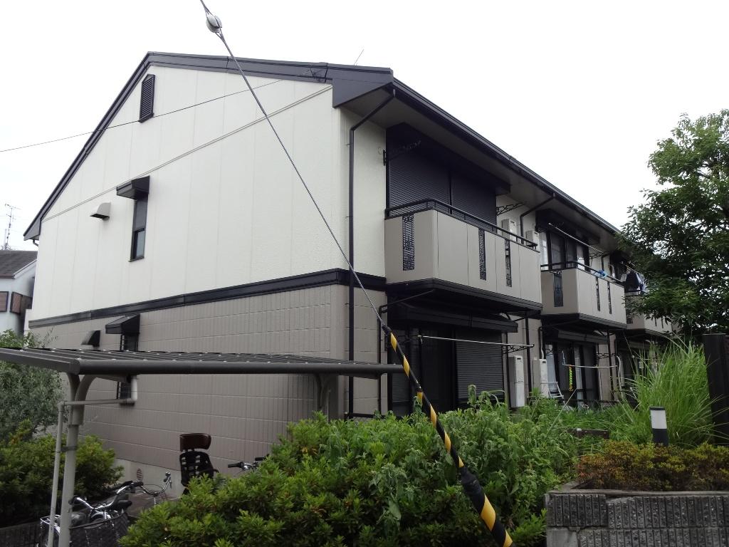 大阪府枚方市、樟葉駅京阪バスバス15分招提北町下車後徒歩3分の築19年 2階建の賃貸アパート