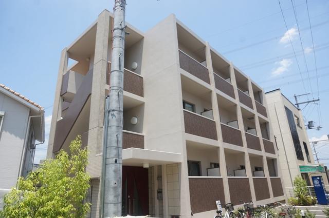 大阪府高槻市、島本駅徒歩15分の築5年 3階建の賃貸マンション