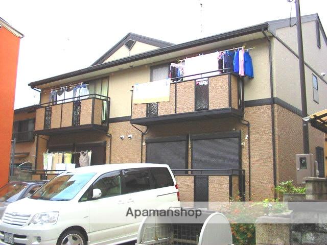 大阪府高槻市、島本駅徒歩19分の築18年 2階建の賃貸アパート
