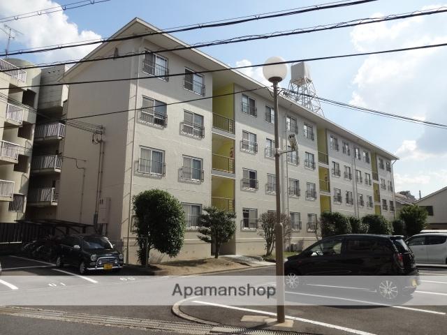 大阪府枚方市、御殿山駅徒歩4分の築45年 4階建の賃貸マンション