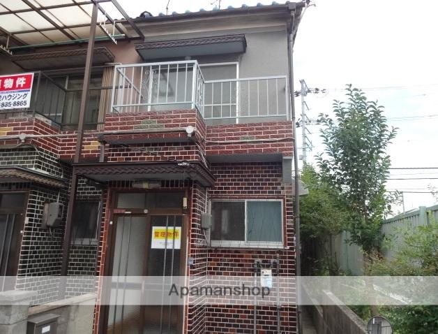 大阪府枚方市、枚方公園駅徒歩18分の築44年 2階建の賃貸テラスハウス