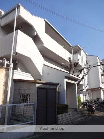 大阪府門真市、大和田駅徒歩14分の築33年 3階建の賃貸マンション