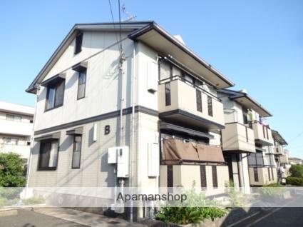 大阪府枚方市、星ヶ丘駅徒歩17分の築18年 2階建の賃貸アパート