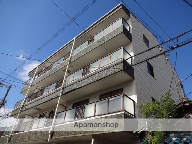大阪府守口市、土居駅徒歩2分の築27年 4階建の賃貸マンション