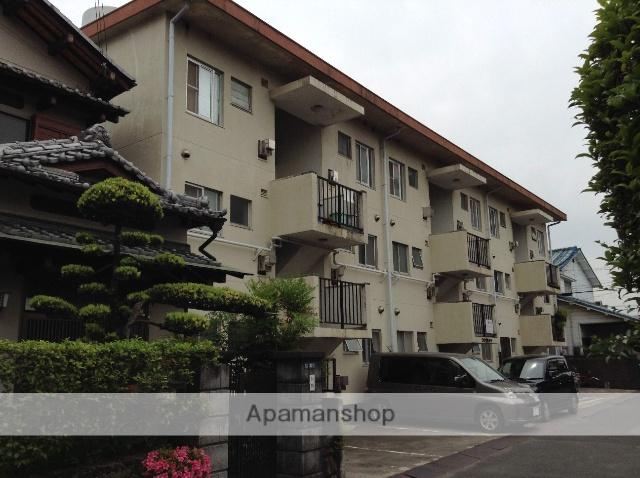 大阪府交野市、村野駅徒歩14分の築36年 3階建の賃貸マンション