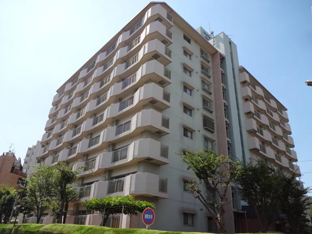 大阪府枚方市、枚方公園駅徒歩10分の築38年 9階建の賃貸マンション