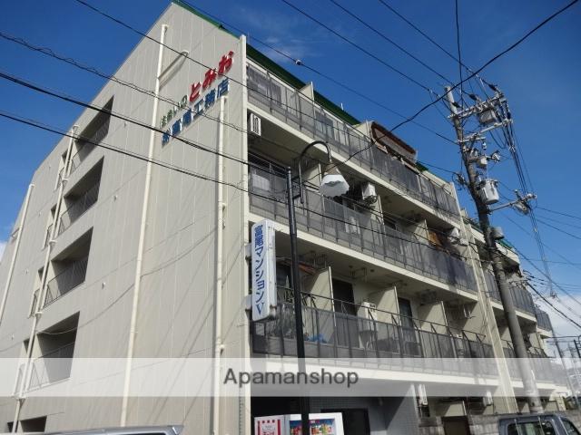 大阪府交野市、星田駅徒歩3分の築27年 5階建の賃貸マンション