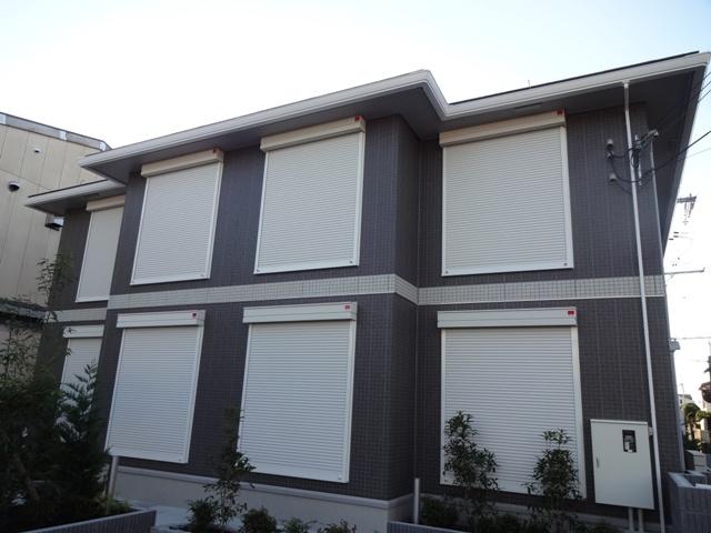 大阪府交野市、津田駅徒歩14分の新築 2階建の賃貸アパート