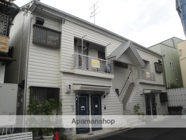 大阪府交野市、河内磐船駅徒歩15分の築47年 2階建の賃貸アパート