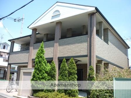 大阪府交野市、津田駅徒歩12分の築11年 2階建の賃貸アパート