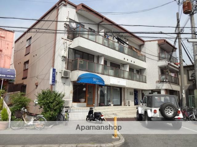 大阪府枚方市、宮之阪駅徒歩14分の築30年 4階建の賃貸マンション