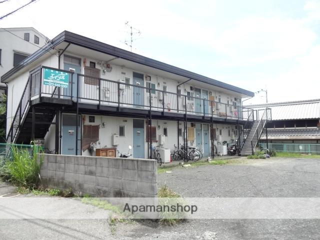 大阪府枚方市、御殿山駅徒歩9分の築46年 2階建の賃貸アパート
