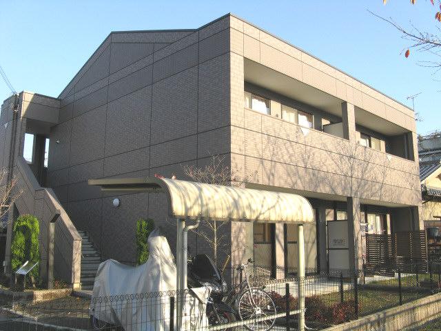 大阪府交野市、河内磐船駅徒歩10分の築11年 2階建の賃貸アパート