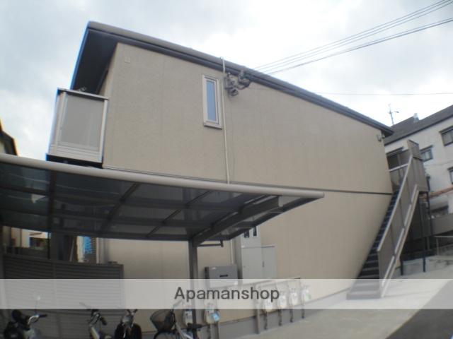 大阪府交野市、津田駅徒歩15分の築8年 2階建の賃貸アパート