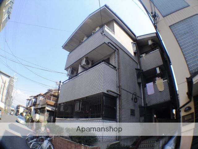 大阪府枚方市、御殿山駅徒歩12分の築28年 3階建の賃貸マンション