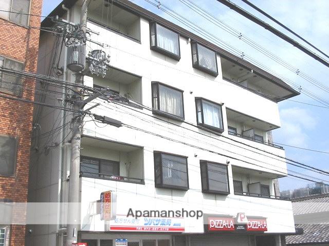 大阪府枚方市、藤阪駅徒歩18分の築27年 4階建の賃貸マンション
