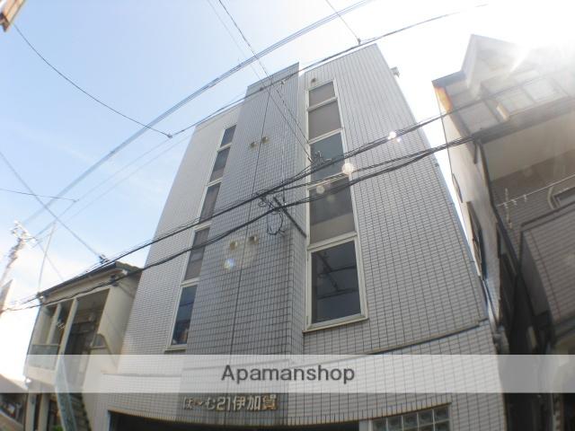 大阪府枚方市、枚方公園駅徒歩9分の築26年 4階建の賃貸マンション