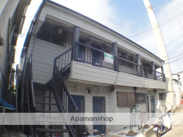 大阪府枚方市、光善寺駅徒歩11分の築45年 2階建の賃貸アパート