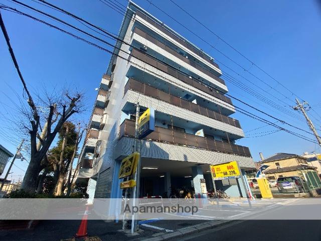 大阪府東大阪市、俊徳道駅徒歩7分の築25年 6階建の賃貸マンション