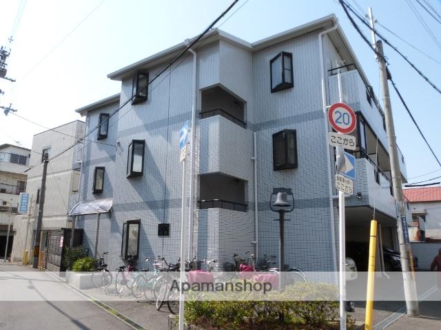 大阪府東大阪市、長瀬駅徒歩17分の築22年 3階建の賃貸マンション