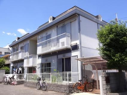 大阪府八尾市、河内山本駅徒歩8分の築30年 2階建の賃貸アパート