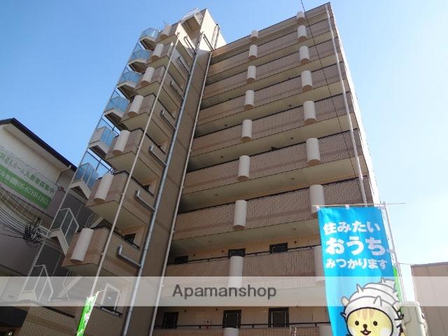 大阪府東大阪市、JR河内永和駅徒歩12分の築25年 9階建の賃貸マンション