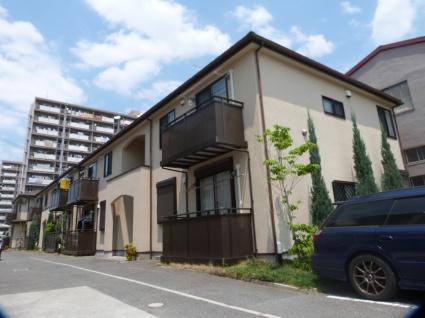大阪府八尾市、久宝寺駅徒歩14分の築8年 2階建の賃貸アパート