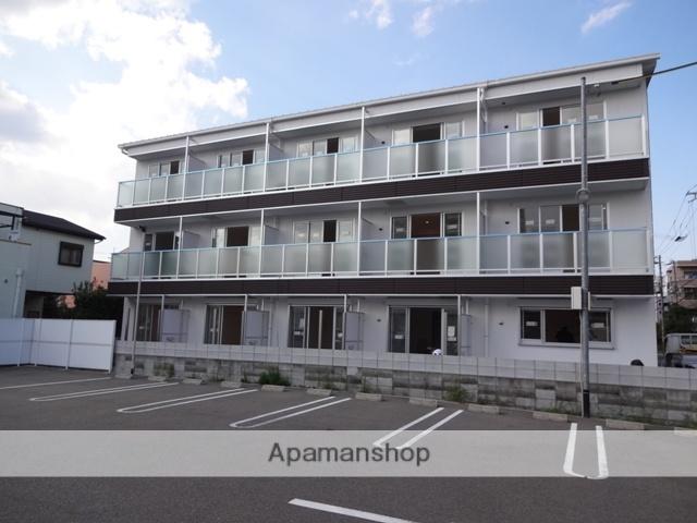 大阪府東大阪市、東花園駅徒歩25分の新築 3階建の賃貸マンション