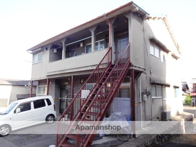 大阪府東大阪市、額田駅徒歩28分の築43年 2階建の賃貸アパート