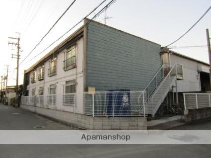 大阪府東大阪市、JR長瀬駅徒歩15分の築40年 2階建の賃貸アパート