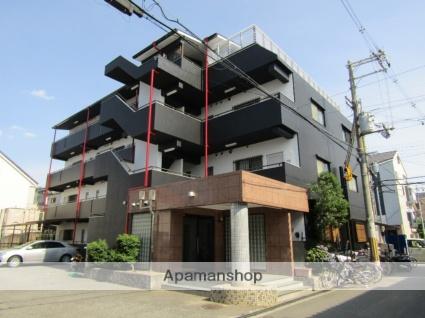 大阪府東大阪市、JR長瀬駅徒歩20分の築23年 4階建の賃貸マンション